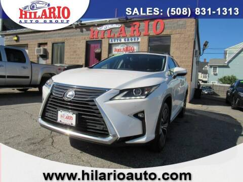 2017 Lexus RX 350 for sale at Hilario's Auto Sales in Worcester MA
