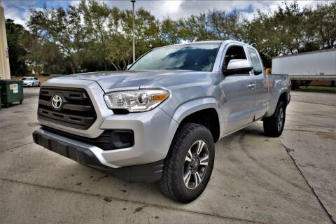 2017 Toyota Tacoma for sale at Easy Deal Auto Brokers in Hollywood FL