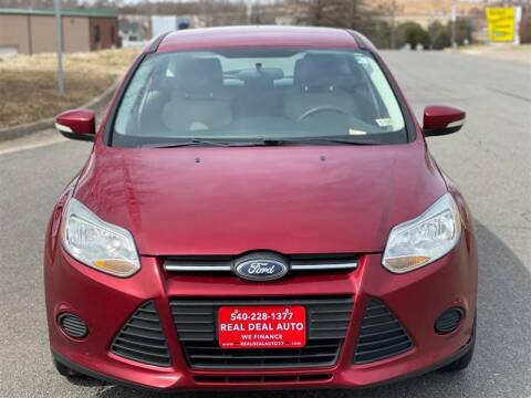 2013 Ford Focus for sale at Real Deal Auto in Fredericksburg VA