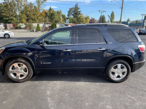 2008 GMC Acadia for sale at Westside Motors in Mount Vernon WA