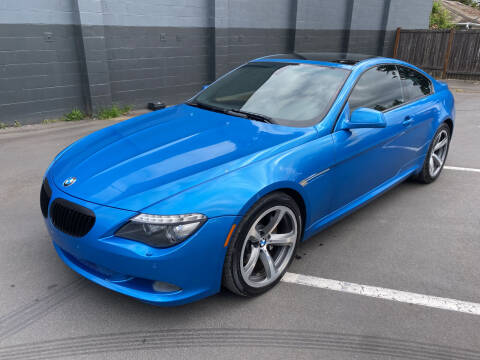 2010 BMW 6 Series for sale at APX Auto Brokers in Lynnwood WA