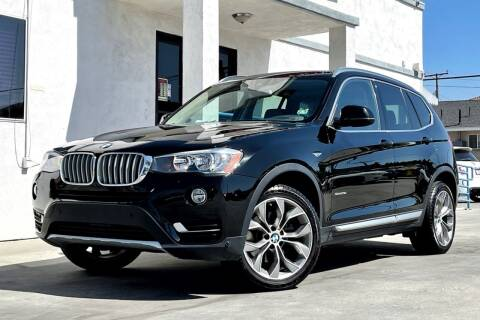2017 BMW X3 for sale at Fastrack Auto Inc in Rosemead CA