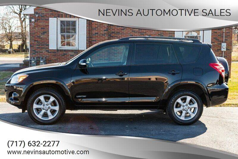 2012 Toyota RAV4 for sale at Nevins Automotive Sales in Hanover PA