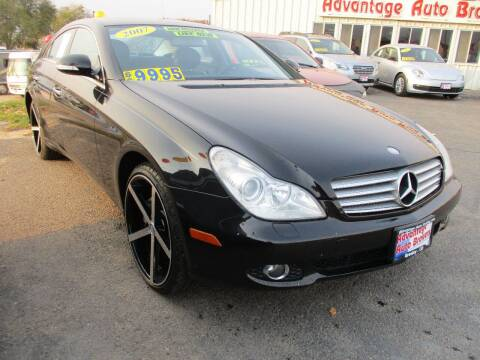 2007 Mercedes-Benz CLS for sale at Advantage Auto Brokers Inc in Greeley CO