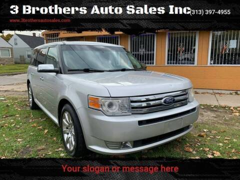 2011 Ford Flex for sale at 3 Brothers Auto Sales Inc in Detroit MI