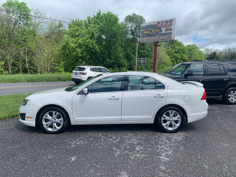2012 Ford Fusion for sale at Karz INC in Funkstown MD