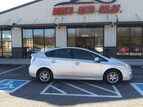 2010 Toyota Prius for sale at DOUG'S AUTO SALES INC in Pleasant View TN