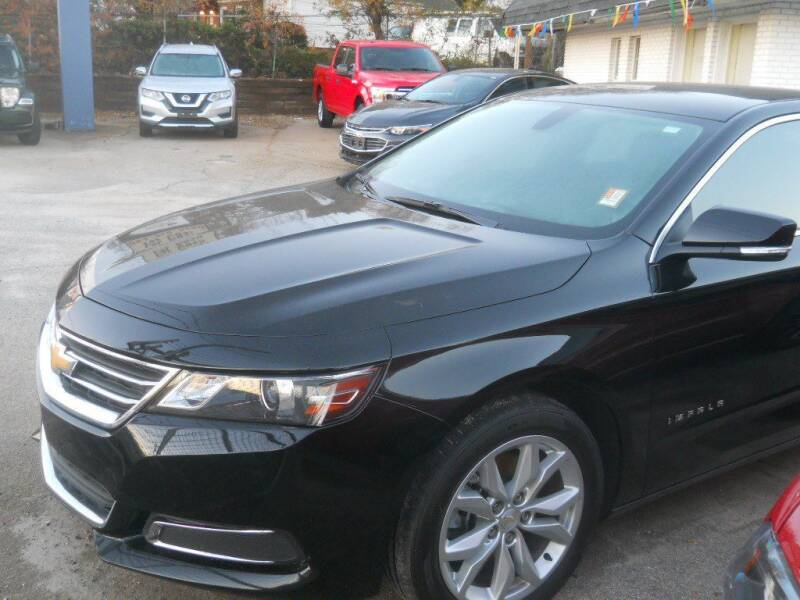2017 Chevrolet Impala for sale at THE TRAIN AUTO SALES & LEASING in Mauldin SC