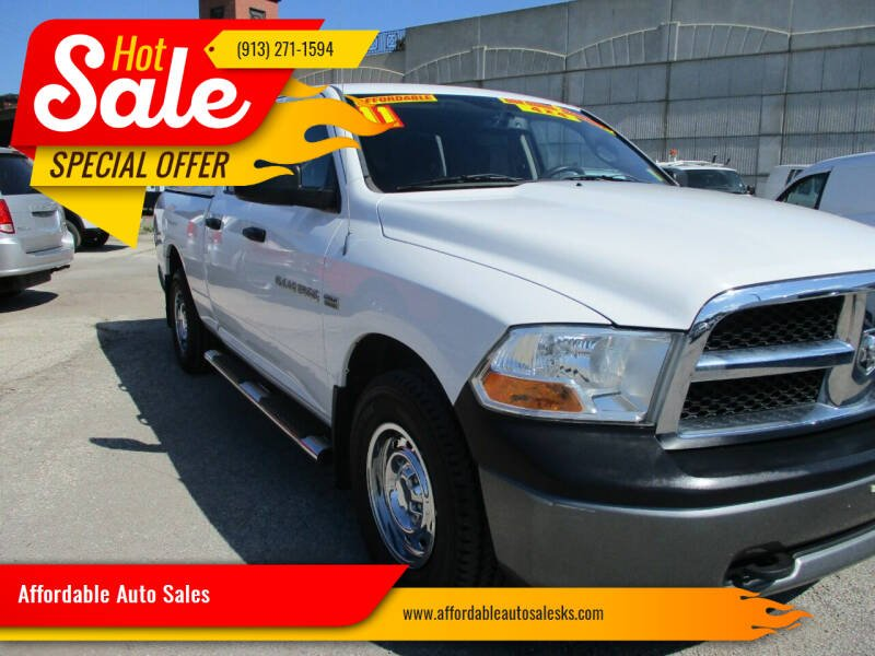 2011 RAM Ram Pickup 1500 for sale at Affordable Auto Sales in Olathe KS