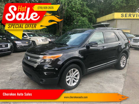 2013 Ford Explorer for sale at Cherokee Auto Sales in Acworth GA