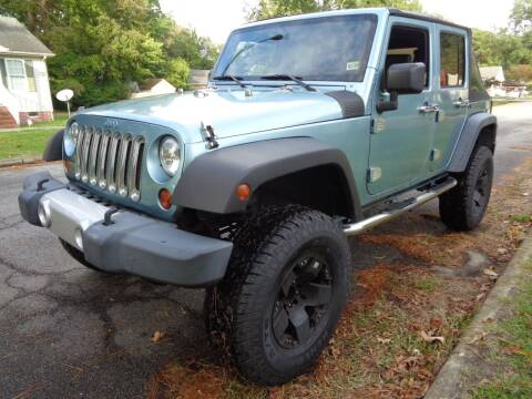 2008 Jeep Wrangler Unlimited for sale at Liberty Motors in Chesapeake VA