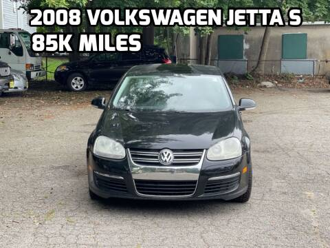 2008 Volkswagen Jetta for sale at Emory Street Auto Sales and Service in Attleboro MA