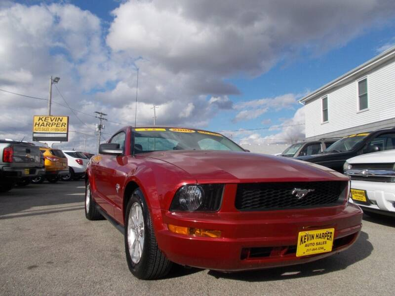 2009 Ford Mustang for sale at Kevin Harper Auto Sales in Mount Zion IL