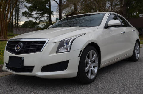 2014 Cadillac ATS for sale at Wheel Deal Auto Sales LLC in Norfolk VA