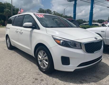 2015 Kia Sedona for sale at AUTO PROVIDER in Fort Lauderdale FL