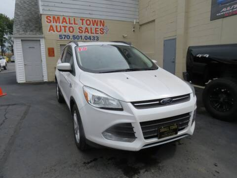 2015 Ford Escape for sale at Small Town Auto Sales in Hazleton PA