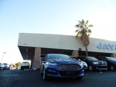 2016 Ford Fusion for sale at Jay Auto Sales in Tucson AZ