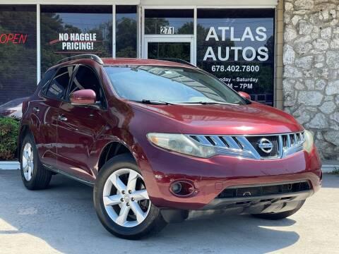 2009 Nissan Murano for sale at ATLAS AUTOS in Marietta GA