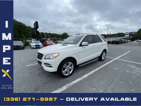 2012 Mercedes-Benz M-Class for sale at Impex Auto Sales in Greensboro NC