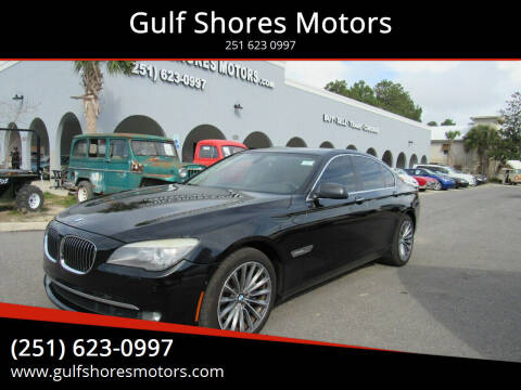 2012 BMW 7 Series for sale at Gulf Shores Motors in Gulf Shores AL