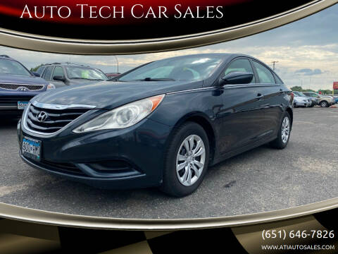 2012 Hyundai Sonata for sale at Auto Tech Car Sales in Saint Paul MN
