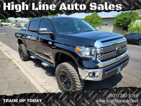 2018 Toyota Tundra for sale at High Line Auto Sales in Salt Lake City UT