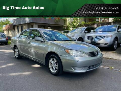 2005 Toyota Camry for sale at Big Time Auto Sales in Vauxhall NJ