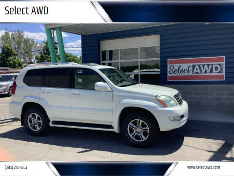 2009 Lexus GX 470 for sale at Select AWD in Provo UT