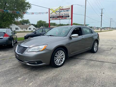 2012 Chrysler 200 for sale at DiGiovanni's Xtreme Auto & Cycle Sales in Machesney Park IL