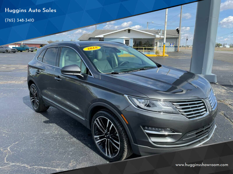 2018 Lincoln MKC for sale at Huggins Auto Sales in Hartford City IN