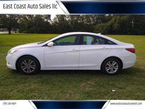 2013 Hyundai Sonata for sale at East Coast Auto Sales llc in Virginia Beach VA