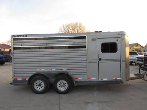 2002 Diamond D horse trailer for sale at HOO MOTORS in Kiowa CO