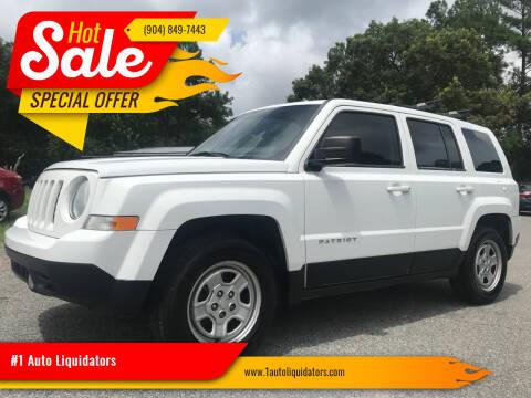 2015 Jeep Patriot for sale at #1 Auto Liquidators in Yulee FL
