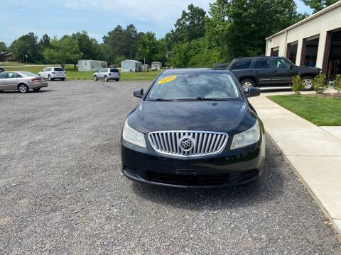 2010 Buick LaCrosse for sale at B & B AUTO SALES INC in Odenville AL