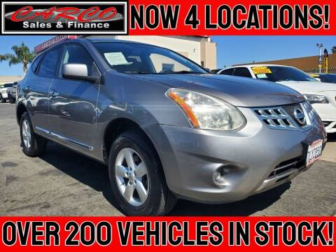 2013 Nissan Rogue for sale at CARCO SALES & FINANCE in Chula Vista CA