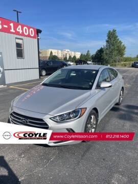 2017 Hyundai Elantra for sale at COYLE GM - COYLE NISSAN - New Inventory in Clarksville IN