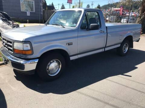 1994 Ford F-150 for sale at Chuck Wise Motors in Portland OR