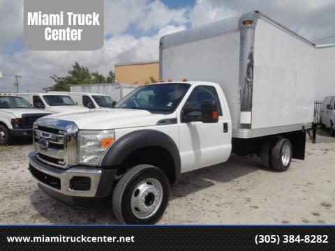 2012 Ford F-450 Super Duty for sale at Miami Truck Center in Hialeah FL