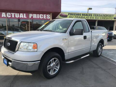 2008 Ford F-150 for sale at Sanmiguel Motors in South Gate CA