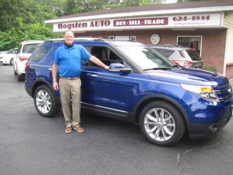 2015 Ford Explorer for sale at HOGSTEN AUTO WHOLESALE in Ocala FL