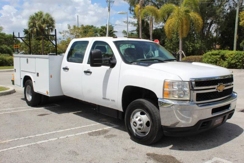 2014 Chevrolet Silverado 3500HD CC for sale at Truck and Van Outlet in Miami FL