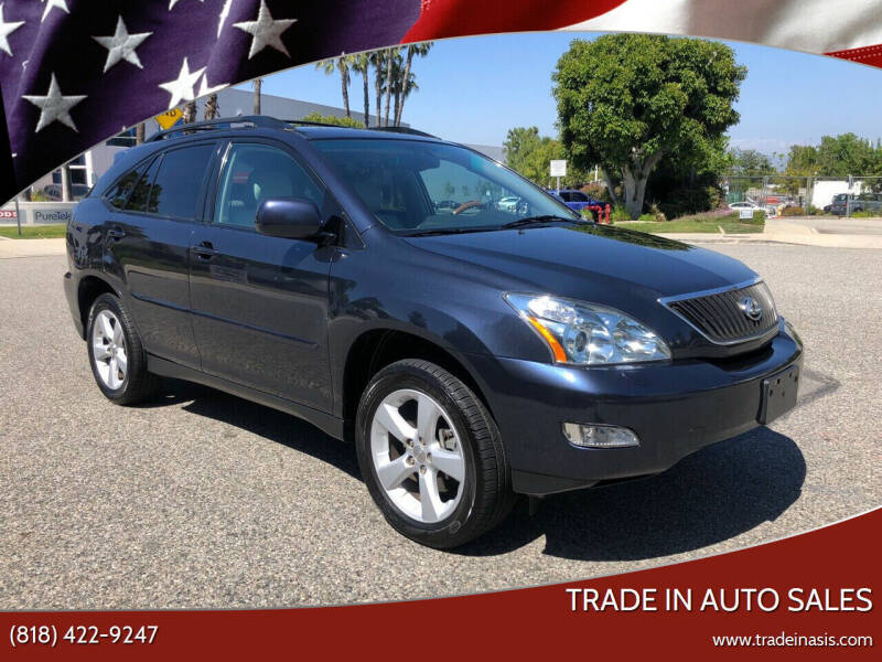 2007 Lexus RX 350 for sale at Trade In Auto Sales in Van Nuys CA