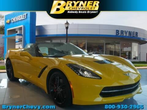 2014 Chevrolet Corvette for sale at BRYNER CHEVROLET in Jenkintown PA