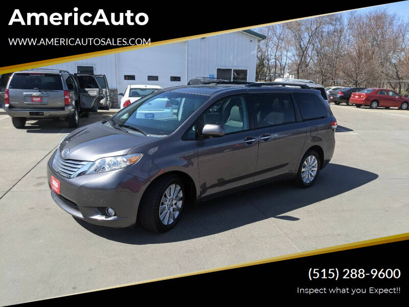 2011 Toyota Sienna for sale at AmericAuto in Des Moines IA