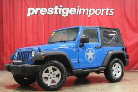 2011 Jeep Wrangler for sale at Prestige Imports in St Charles IL