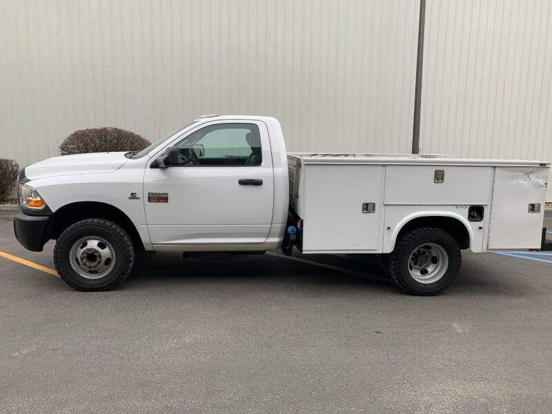 2011 RAM Ram Chassis 3500 for sale at DAVENPORT MOTOR COMPANY in Davenport WA