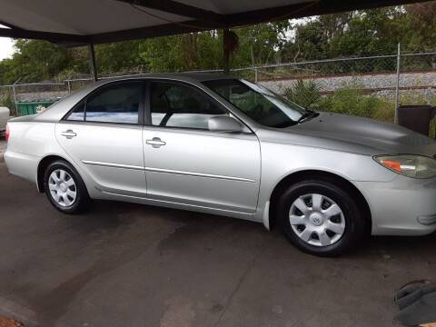 2003 Toyota Camry for sale at Easy Credit Auto Sales in Cocoa FL