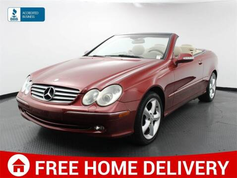 2005 Mercedes-Benz CLK for sale at Florida Fine Cars - West Palm Beach in West Palm Beach FL