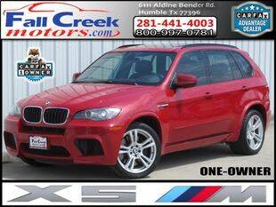 2010 BMW X5 M for sale at Fall Creek Motor Cars in Humble TX