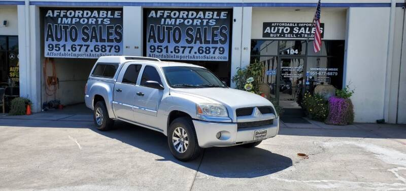 2008 Mitsubishi Raider for sale at Affordable Imports Auto Sales in Murrieta CA